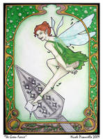 The Green Faerie by Deramis