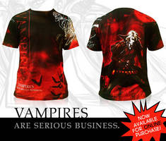 VAMPIRES R SRS BSNSS by Del-Borovic