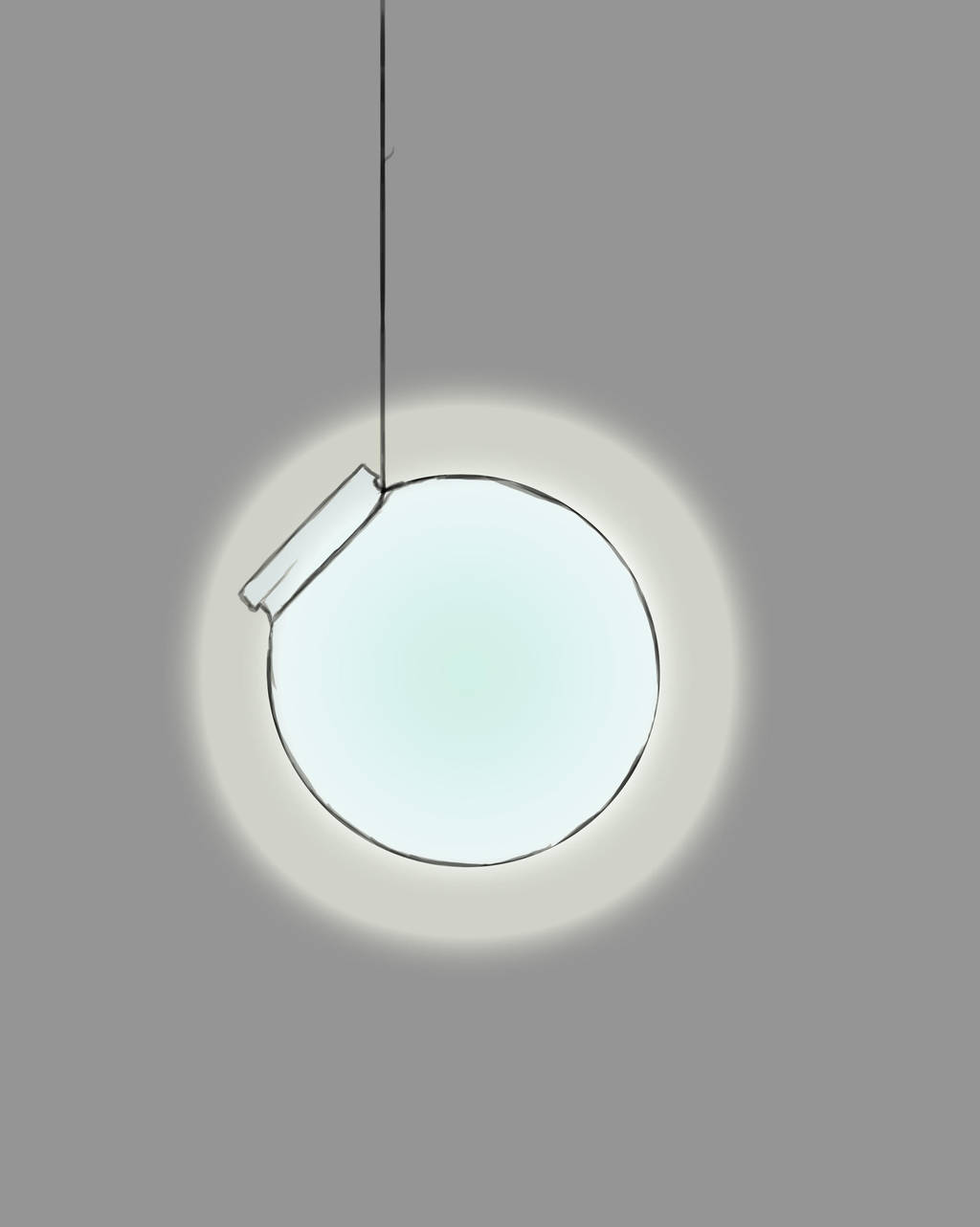 Jar of Light Daily sketch #608 by GothicVampireFreak