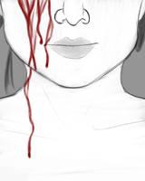 Bleed Daily sketch #844 by GothicVampireFreak