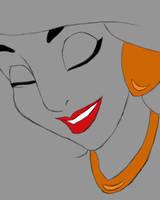 Jasmine Daily sketch #848 by GothicVampireFreak