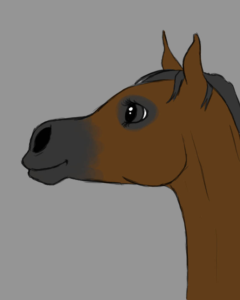 Little Horse Daily sketch #993 by GothicVampireFreak