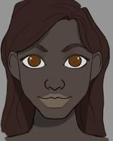 Female Drawing Daily sketch #1136 by GothicVampireFreak