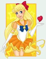 Sailor Stars Sailor Venus by girlunderwater