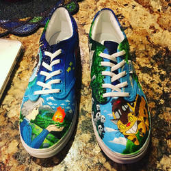 Ghibli shoes  by awestphal