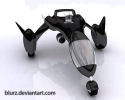 Jet Racer front view by blurz