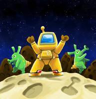 Astroman Soundtrack by gsilverfish
