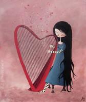 La harpe by lestoilesdaz