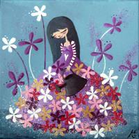 La robe a fleurs by lestoilesdaz