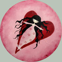 Rose bonbon by lestoilesdaz