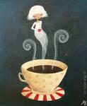 Chocolat chaud by lestoilesdaz