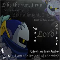 Lord Meta Knight by KarasuHatakeChan