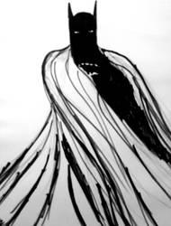 Batman  by Cutswolf