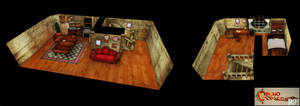 Chrono Trigger HD - Chronos House wip 03 by FrZnChAoS
