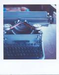 typewriter by nikixfm