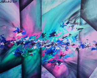 My First usefull Abstract painting by MelonekCZ