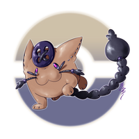 Plusshoo, the Empathy Fakemon by Aalacer