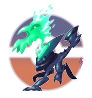 Dullacan, the Headless Fakemon by Aalacer