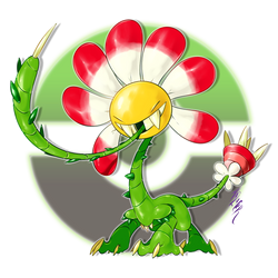 Tornacabra, the Puncture Stalk Fakemon by Aalacer