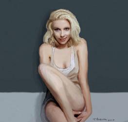 Scarlett Johansson by bolsterstone