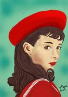 Audrey Hepburn by bolsterstone