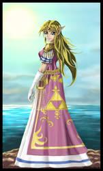 Teen Zelda by tooniegirl