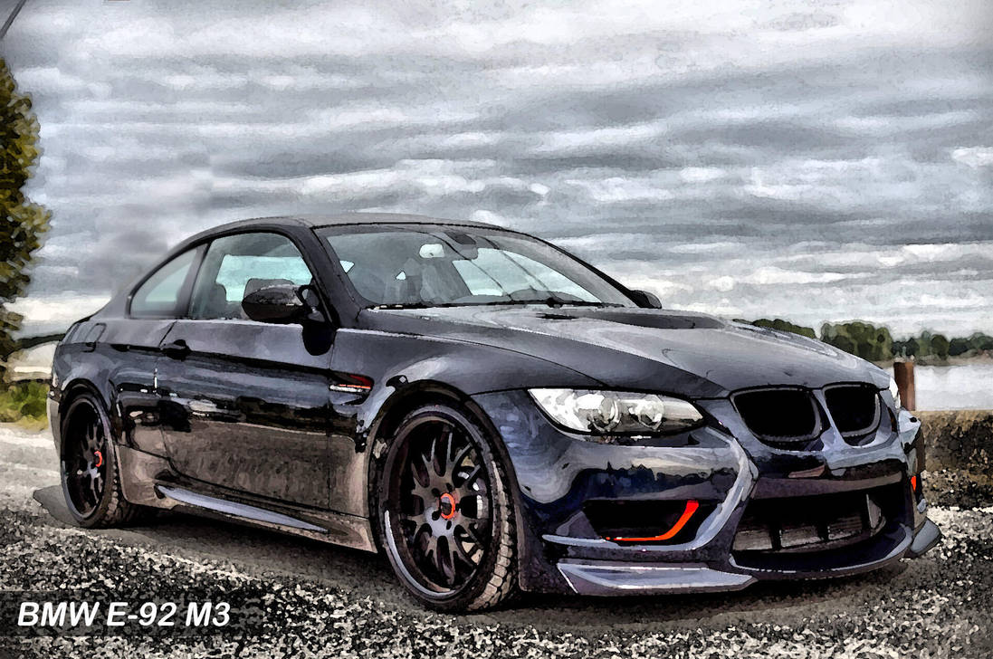 BMW E 92 M3 Coupe By Qureshi Designerz On DeviantArt