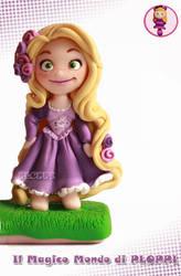 Tangled Rapunzel Fimo Clay by Ploppi by MagicoMondoDiPLOPPI