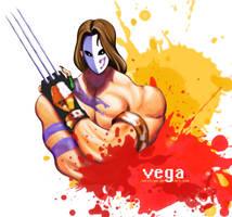 Street Fighter Vega-Balrog by natyhiga