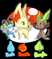 Pokemon XY by Ladlebug