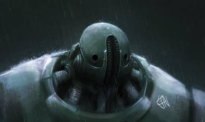 Robot concept 2 by Brainsause