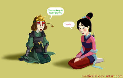 Crossovers: Suki and Mulan by Mattierial