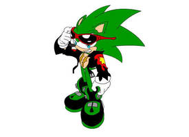 :sonic archie: Scourge by bw4789