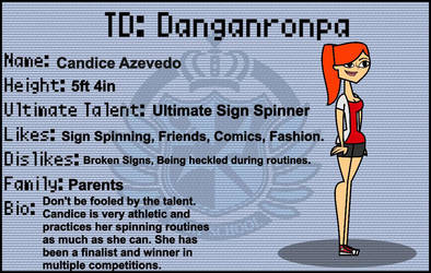 TD DR Candice Audition by YoshiFan797