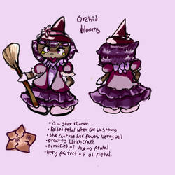 (Yet another contest entry... :D ) Orchid  by Ittybitystar