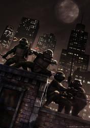 Teenage Mutant Ninja Turtles by Zlydoc