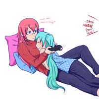 Gaming Time by Silent-Shanin