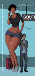 Jamacia: World's Tallest Flirt by caiman2