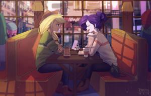 In cafe by LooknamTCN