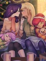 Rarijack Christmas by LooknamTCN