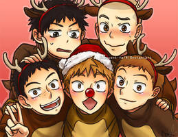 Oofuri: MERRY CHRISTMAS by Innocent-raiN