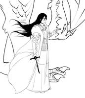 Byakuya AU by Liss-ka