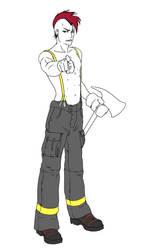 Bleach firefighter by Liss-ka