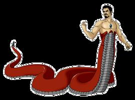 Naga season Tony Stark by Liss-ka