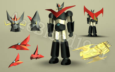 Shin Great Mazinger Fan Art 2 by AceBlood1991