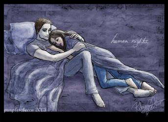 Human Nights by purplerebecca