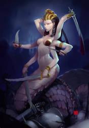 naga queen homm III by soft-h