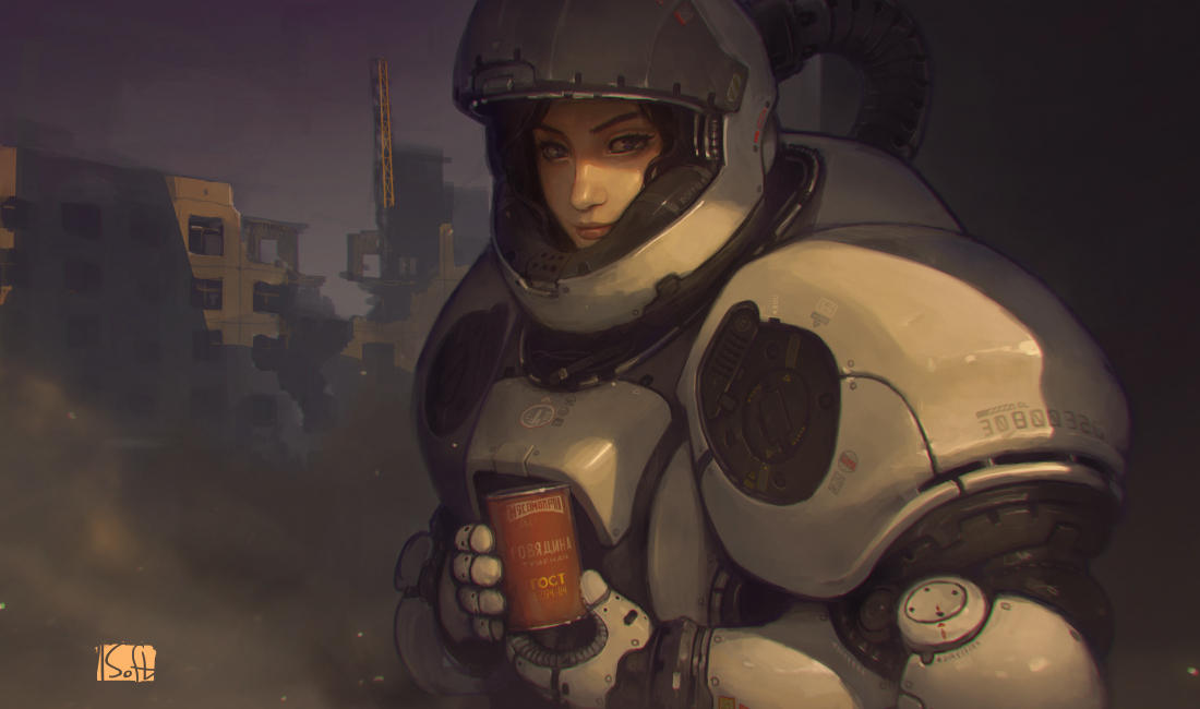 girl from mars by soft-h