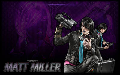 Saints Row 3: Matt Miller by PrincessCakeNikki