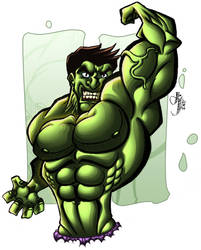Hulk SMASH!! COLORS by ArtOfTDJ
